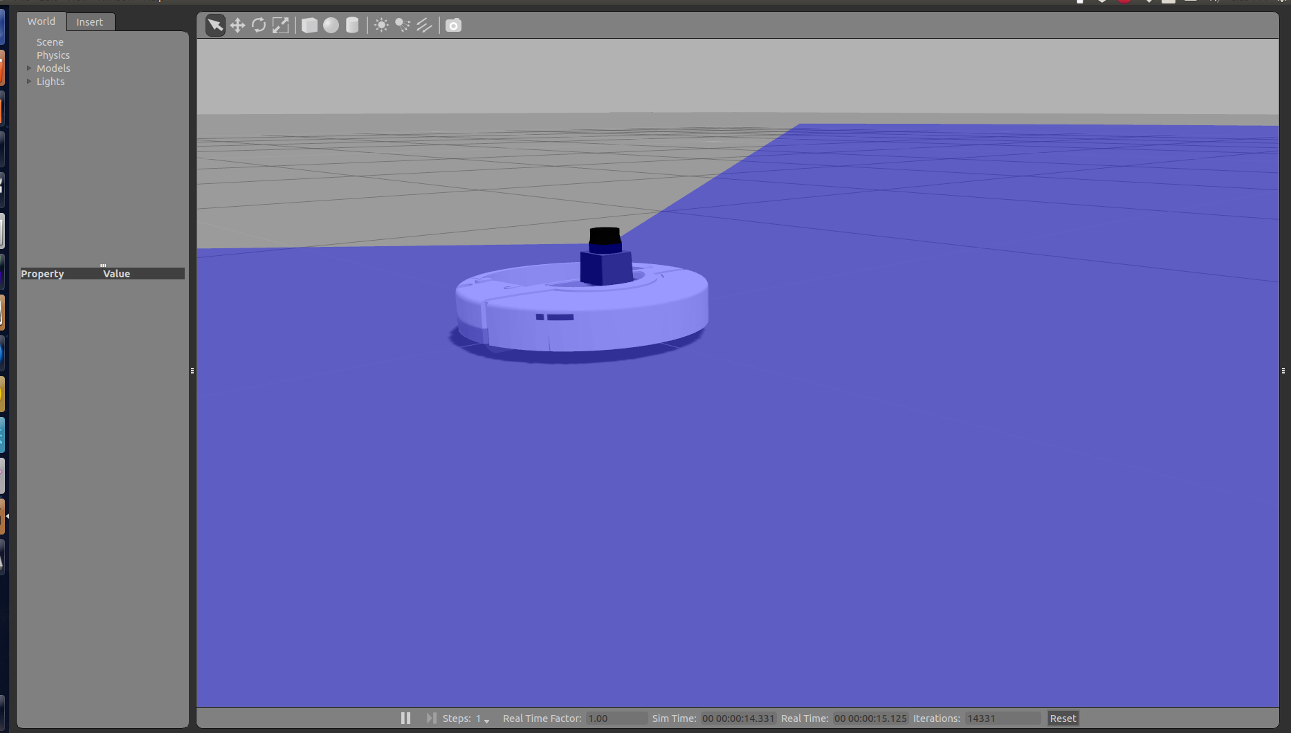 How To: Simulate Laser Scanner (Lidar) on IRobot Create